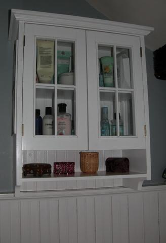 Bathroom on Back To Lory S Bathroom Wall Cabinet Detail Page Lory S Bathroom Wall